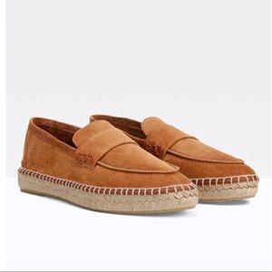 Vince Daria-2 Espadrille Loafer Brown Size 6